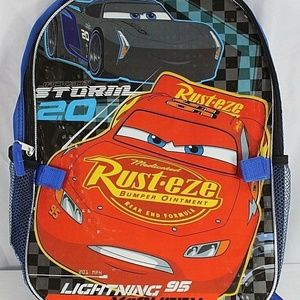 Disney – Pixar Cars Blue Backpack Lightning McQuee